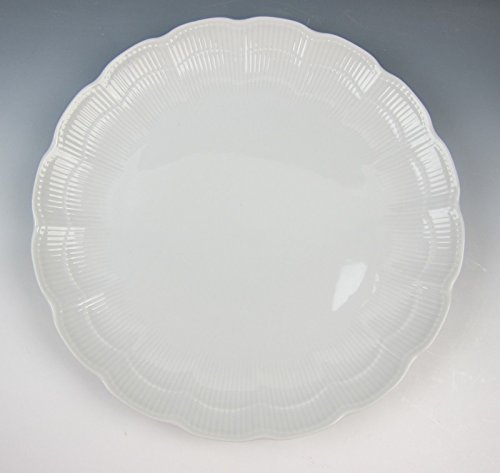 Kaiser China ROMANTICA-ALL WHITE Luncheon Plate(s) EXCELLENT