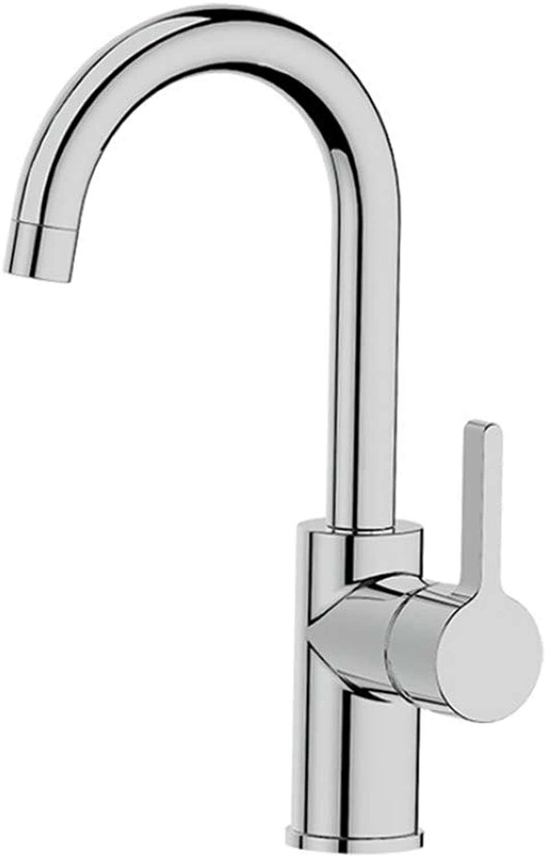 Basin Mixer Tap Bath Fixtures Wash Basinsinkkitchen New Style Washbasin Tap, Simple Environmental Predection, Low Lead Faucet, All Copper Cast Single Lead.