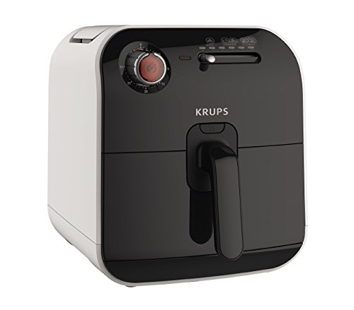 KRUPS AJ1000US Air Fryer Low-Fat with Adjustable Temperature, 2.5 L, Black