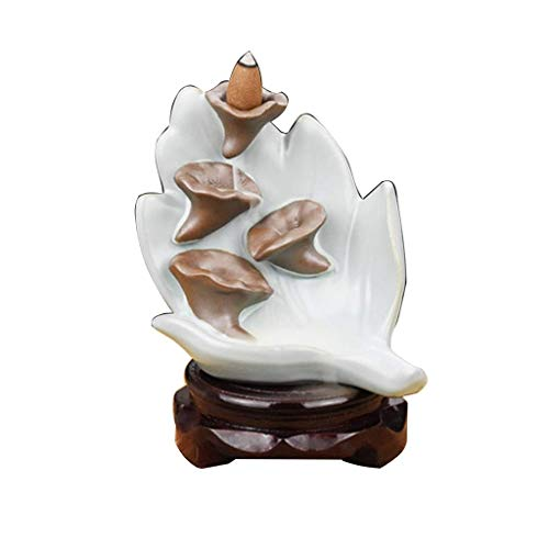 Sale!! LHBNH Burner Incense Burner Waterfall Reflux Incense Burner Home Accessories Indoor Purificat...