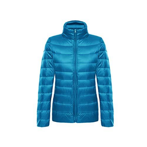 YiiJee Damen Daunenjacke die Jacke ist zusammenfaltbar und in einem dazugehörigen Beutel verstaubar 1 M