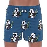D.E.A.L International Boxershorts Blau mit Panda-Print Größe XL