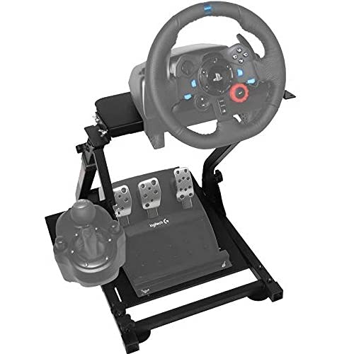 OldFe G29 Steering Wheel Stand Per Logitech G27 G25 G29 E G920 Volante Con Supporto V2 Supporto Giochi Solo Supporto SENZA Volante E Pedale