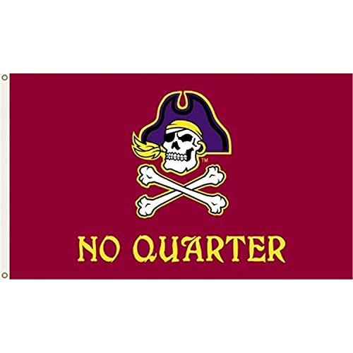 BSI NCAA East Carolina Pirates 3-by-5 Pied Drapeau Pas de Quartier avec œillets