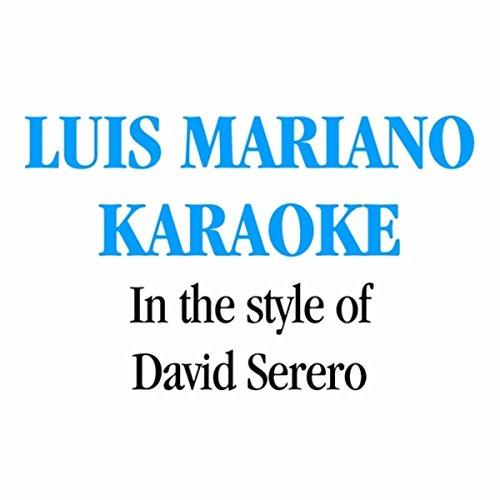 L'amour Est Un Bouquet De Violettes (Karaoke Instrumental) [In the Style of David Serero]