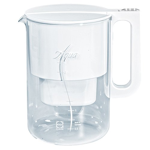 Aqua Select Plus Glas Tischwasserfilter mit Date Indicator für Multimax Patronen
