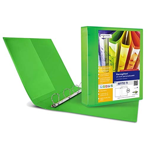 Ordner MYTO TI 17 A4 4D 22 x 30 cm groen personaliseerbaar SEI ROTA