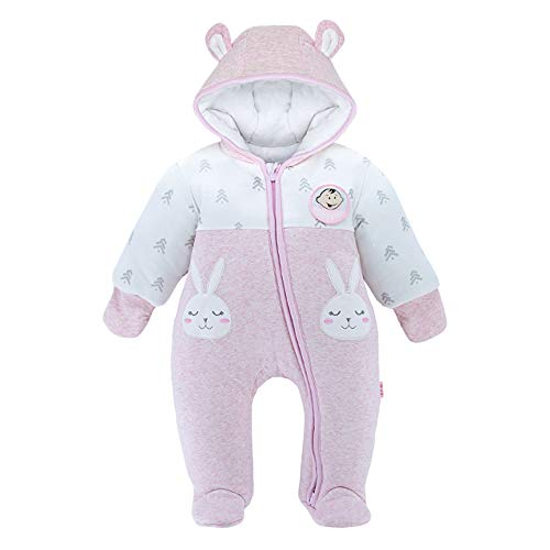 DDY Baby Winter Clothes Snowsuit Rompers Jumpsuit Zipper Hooded Footed Onesie Outwear Outfits Set Coat for Infant Boy Girl