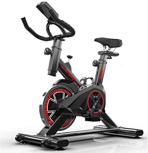 Lloow Bicicletas estáticas y de Spinning Bicicleta Estacionaria para El Hogar Ultra Silenciosa Sala De Spinning Bicicleta De Interior Bicicleta De Spinning Vertical Bicicleta Exercise Bikes