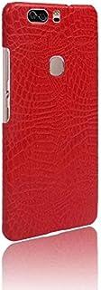 حافظة هاتف هواوي اونور V8 حافظة الهاتف المحمول درع صلب 360 درجة لحماية هاتفك بنمط تمساح لهاتف هواوي اونور V8 HUAWEI Honor ...