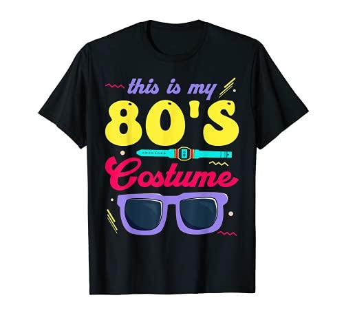This Is My 80s Costume 80s - Gafas de sol para fiesta Camiseta