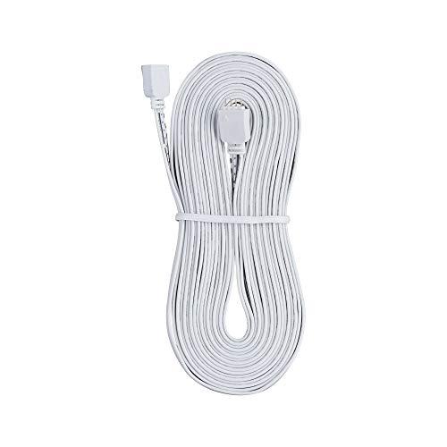 Paulmann 70251 YourLED Verbindungskabel für LED Strip 5 m Stripe Zubehör Weiß Überbrückungs-Kabel Kunststoff einfaches Stecksystem
