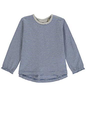 Bellybutton Kids Bellybutton mother nature & me Baby-Mädchen T-Shirt 1/1 Arm Langarmshirt, Mehrfarbig (Y/D Stripe 0001), 80