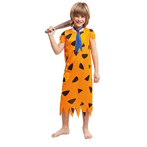 My Other Me Me-203253 Disfraz troglodita para nio, color naranja, 3-4 aos (Viving Costumes 203253)