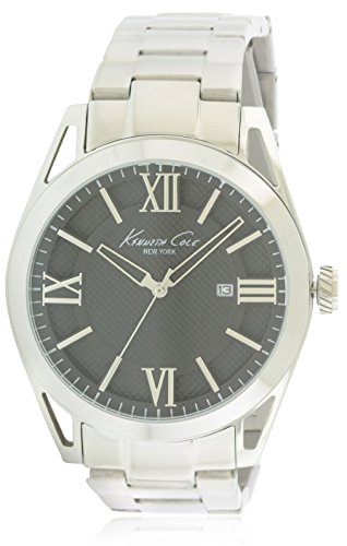 Kenneth Cole New York Men's KC9372 Classic Analog Display Japanese Quartz Silver Watch