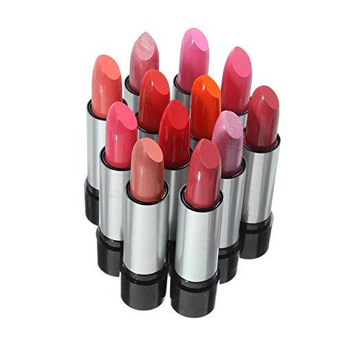 12 Pz Rossetto Set Matte Liquid Lip Gloss lungo impermeabile Lasting Lipstick non ha paura di Kissing, drinking, nuoto 12 colori