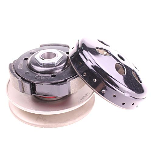 Glixal High Performance Racing Clutch Assy with Clutch Bell for GY6 125cc 150cc 157QMJ 152QMI Engine Chinese Scooter Moped ATV Go-Kart