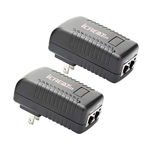 48V POE Injector, iCreatin 2-Pack 1…