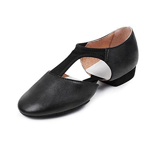 Bloch Women's Elastospllit Grecian Dance Shoe, Black, 11 Medium US