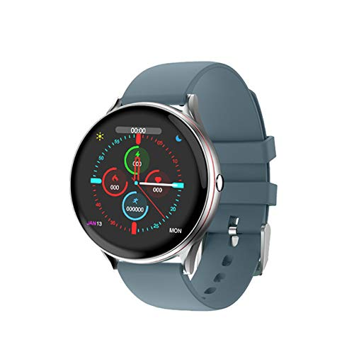 Full-Touch-Smartwatch für Damen, multifunktional, Sport, Herzfrequenz, Blutdruck, IP67, wasserdicht, inklusive Box
