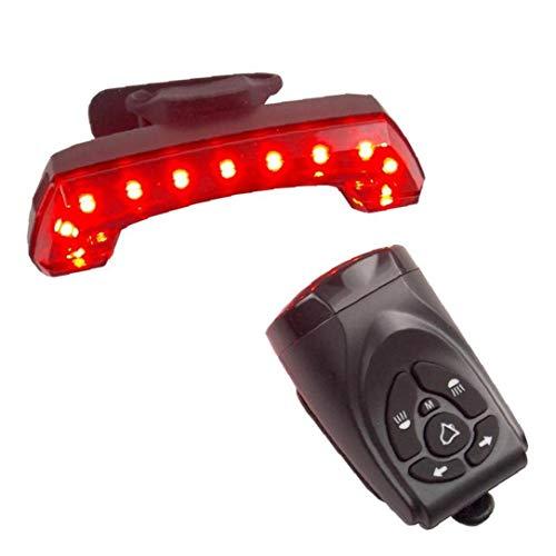 Lámpara Ciclo USB Led Recargable Inteligente Luz Posterior De La Bicicleta De La Bicicleta Bicicleta Luz De Freno Luz Trasera USB Control Remoto Advertencia Lámpara De Inducción