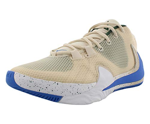 Nike Zoom Freak 1, Zapatillas Deportivas Hombre, Light Cream/Pacific Blue-Fir-Blanco, 39 EU