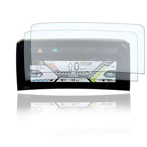 [2 Stück] Displayschutzfolie Tacho Schutzfolie geeignet für BMW C Evolution 2014+ Panzerglas