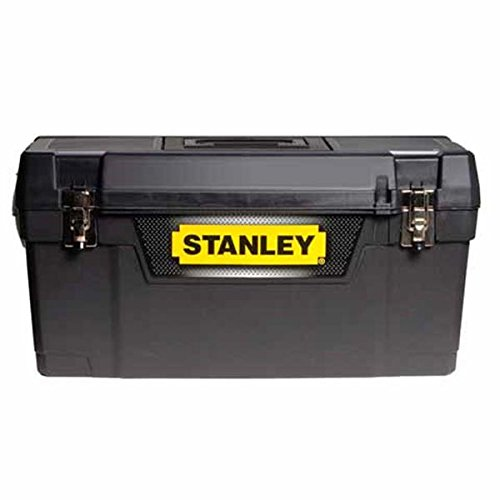 Stanley STA194858 Metal Latch Toolbox, 20 inch - Black