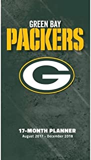 Green Bay Packers 2017-18 17-month Planner