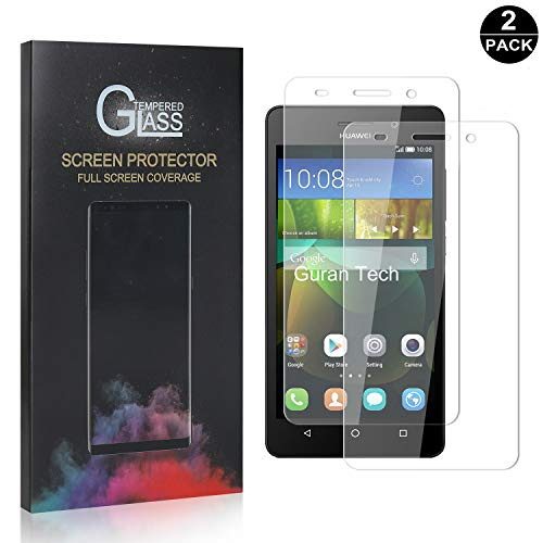 Huawei Honor 4C Displayschutzfolie, Ultra-klar Schutzfilm aus Gehärtetem Glas, Anti-Kratzen Displayschutz Schutzfolie für Huawei Honor 4C, 2 Stück