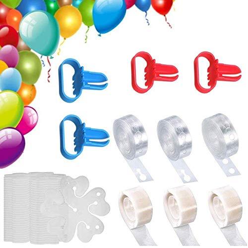Heatigo Ballon Girlande Streifen Und Ballon Kleber Punkt Punkte Aufkleber,Luftballon Girlande, Ballon Bogen Kit Mit Für Hochzeitsfeier / Geburtstag / Weihnachtsdekoratio