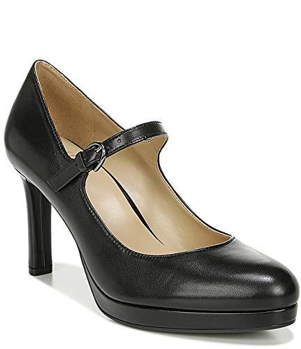 [ナチュライザー Naturalizer] シューズ 27.0 cm パンプス Talissa Mary Jane Leather Platform Pumps Black Leat レディース [並行輸入品]
