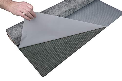HEXIM Trittschalldämmung - selbstklebende Oberfläche für Klebevinyl Bodenbeläge - TSK, 6,5 m² pro Rolle (6,5 Quadratmeter)