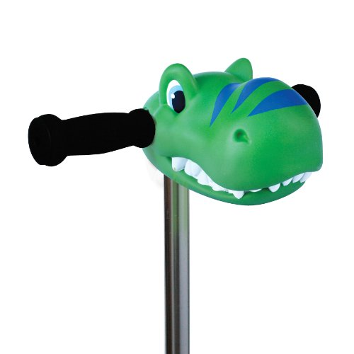Scootaheadz Kids Dinosaur and Horses T-Bar Kick Scooter Accessory Toy,Danny Dino Green Toy