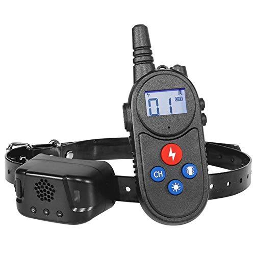 YODZKJ Dispositivo de Entrenamiento Remoto para Perros de 3280 pies, tapón de ladridos para Mascotas, Impermeable