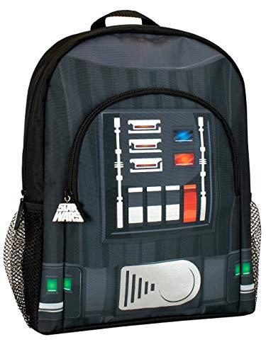 Star Wars Mochila para Niños Darth Vader Negro