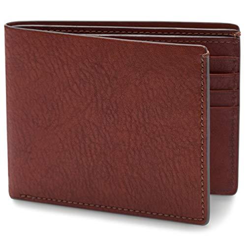 Bosca | Men's 8 Pocket Deluxe Wallet w/RFID Blocking in Washed Italian Leather