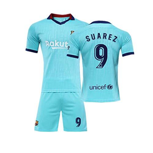 Crstal Suarez 9# Trikot und Shorts Fußball T-Shirt Bedrucken Kinder und Jugend Größe - Geschenke für Kinder Erw. Jungen Baby (Size:Groß)