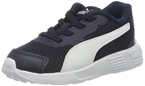 PUMA Unisex Baby Taper Ac Inf Sneaker, Mehrfarbig (Peacoat-Puma White), 26 EU