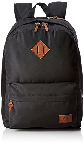 Vans Old SKOOL Plus Backpack Mochila Tipo Casual, 44 cm, 23 Liters, Negro (True Black)