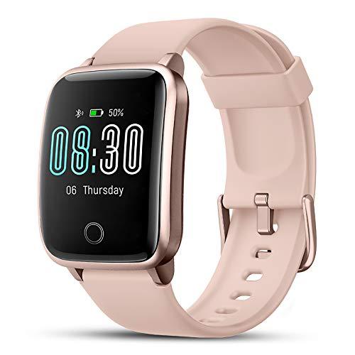 Smartwatch, LIFEBEE Reloj Inteligente Impermeable IP68 con Monitor de Sueño Pulsómetros Cronómetros Contador de Caloría, Pulsera de Actividad Inteligente para Hombre Mujer niños con iOS y Android