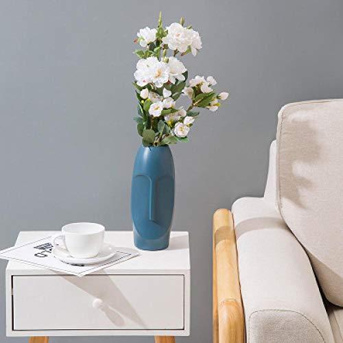 Vase Kunststoff Blumenvasen Für Hochzeit Esstisch Home Decoration Imitation Keramik Blumenarrangement Vase Blumenkorb Topf B1
