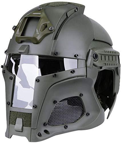 Tattico Militare Casco balistico Guida laterale NVG Copertura di trasferimento del sudario Sport Esercito Combattimento Airsoft Paintball Maschera integrale Casco Equipaggiamento protettivo