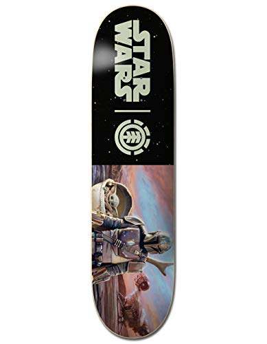Element Skateboard Deck Star Wars Mandalorian Hunter Prey, 20,3 cm