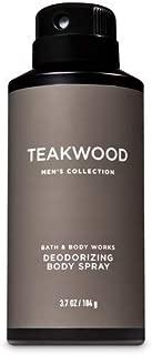 Bath & Body Works Teakwood Men's Deodorizing Body Spray 3.7 Oz.