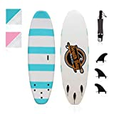 South Bay Board Co. - Basic Beginner Soft Top Surfboards - 6' | 8'...