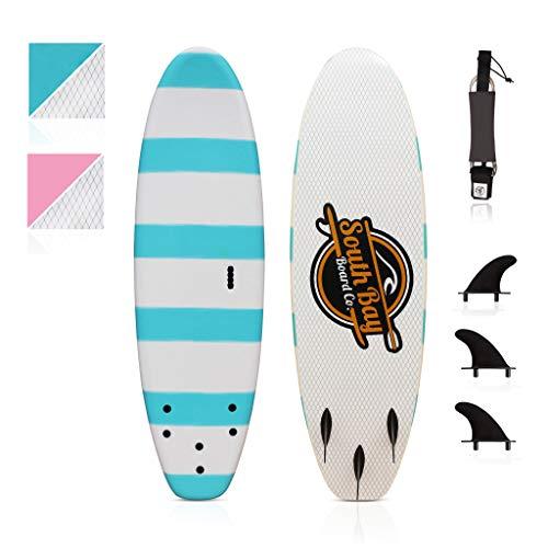 South Bay Board Co. 6' Beginner Foam Surfboard