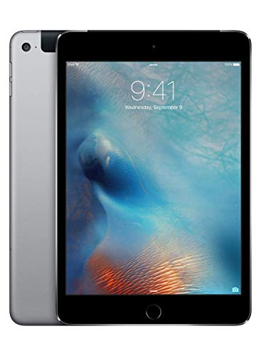 Apple iPad mini 4 (Wi-Fi + Cellular, 128GB) - Space Gray (Previous Model)