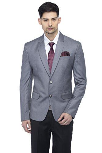 FAVOROSKI Designer Men's Slim Fit Notched Lapel Single Breasted Solid Blazer