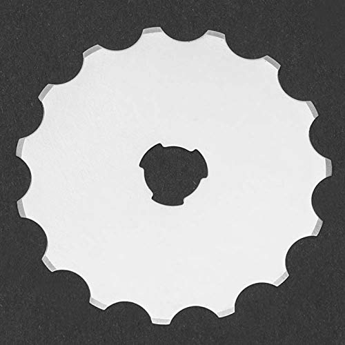 DAUERHAFT Cuchillas de Acero de Alta Velocidad 5PCS 45MM para Manualidades SKS-7
